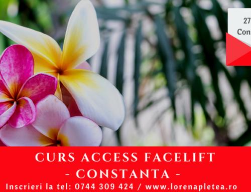 Curs Access Facelift – 27 Mai, Constanta