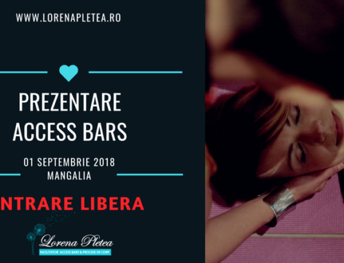 Prezentare Access Bars | 01 septembrie, Mangalia