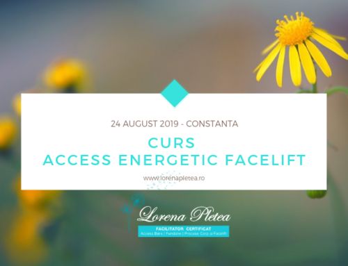 Curs Access Energetic Facelift – 24 August, Constanta