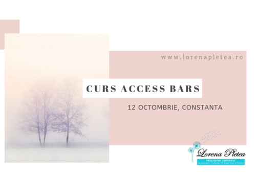 Curs Access Bars | 12 Octombrie, Constanta
