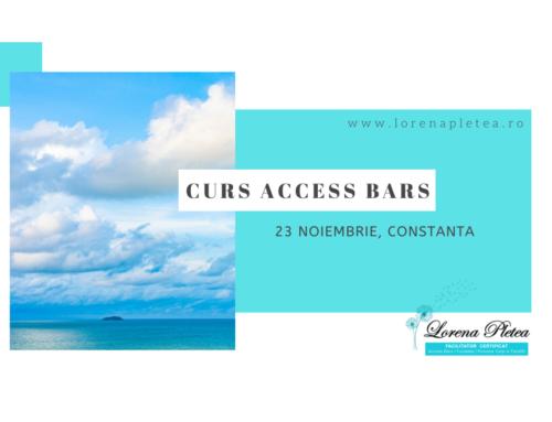 Curs Access Bars | 23 Noiembrie, Constanta