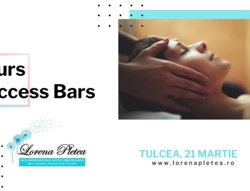 Curs Access Bars | 21 Martie, Tulcea