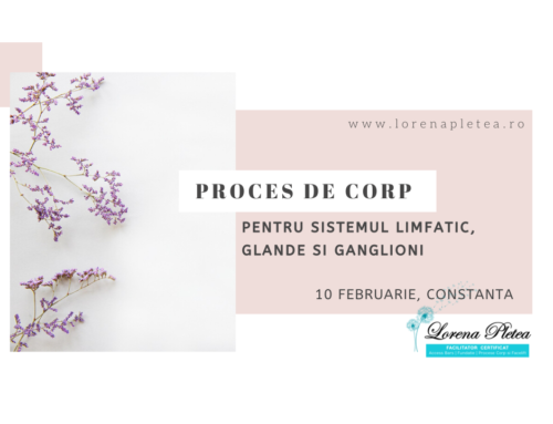 Proces de Corp pt sistemul limfatic, glande si ganglioni | 10 februarie, Constanta