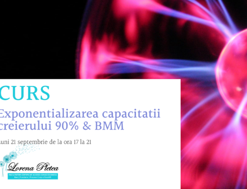Curs – Exponentializarea capacitatii creierului 90% & BMM