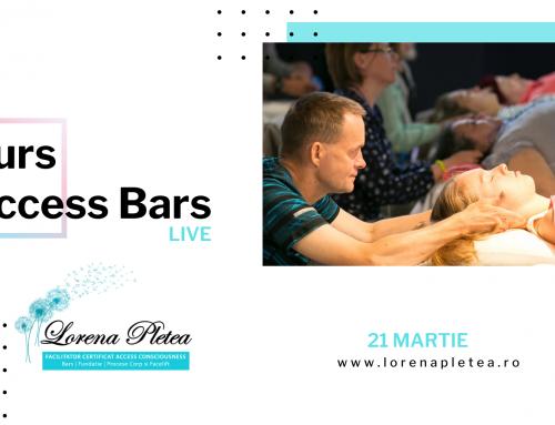 Curs Access Bars Live – 21 Martie