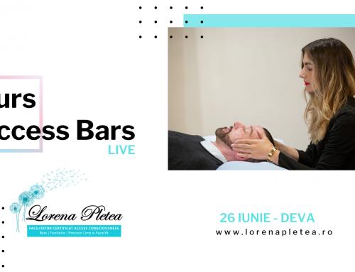 Curs Access Bars – 26 iunie, Deva