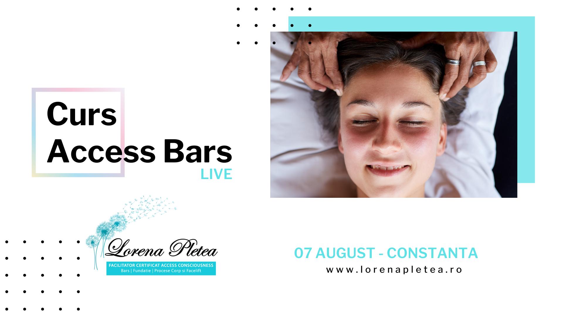 Curs Access Bars – 07 August Constanta