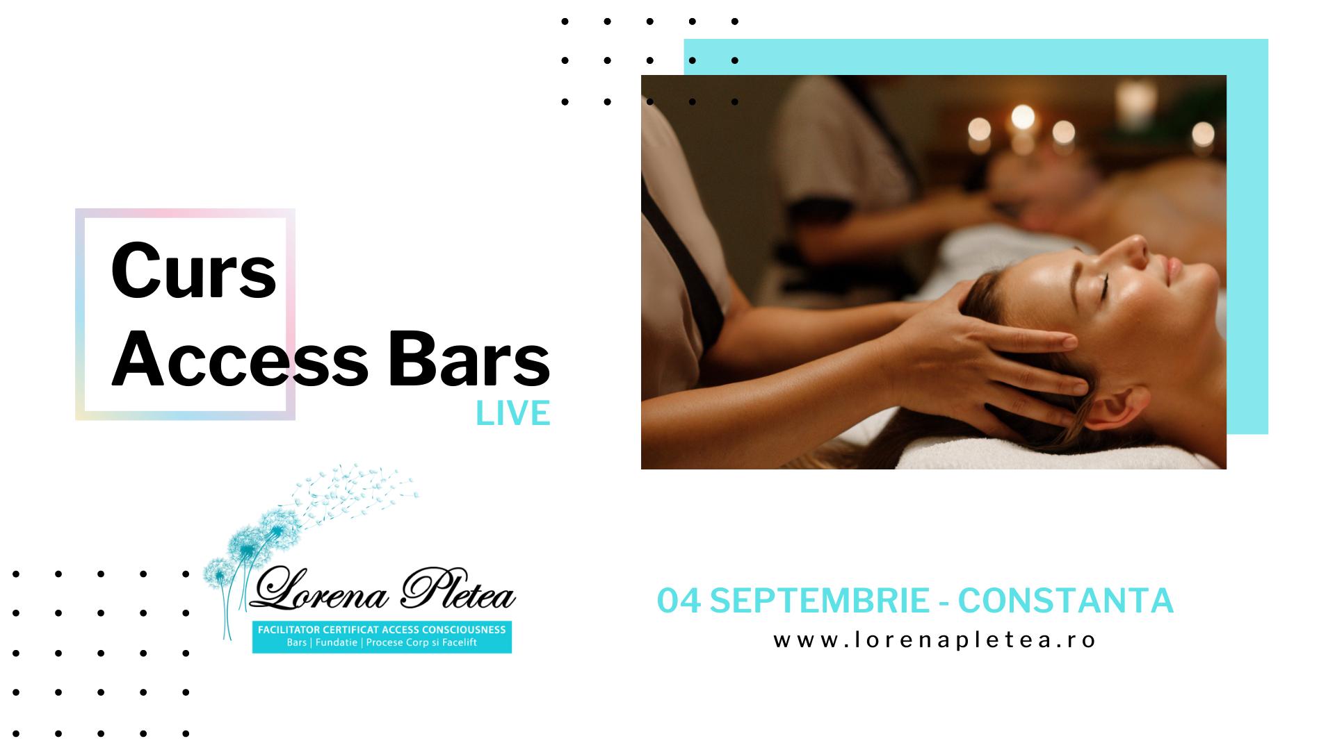 Curs Access Bars – 04 Septembrie, Constanta