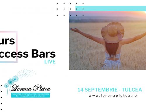 Curs Access Bars – 14 Septembrie, Tulcea