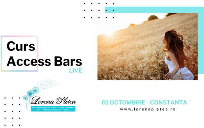 Curs Access Bars – 01 Octombrie, Constanta