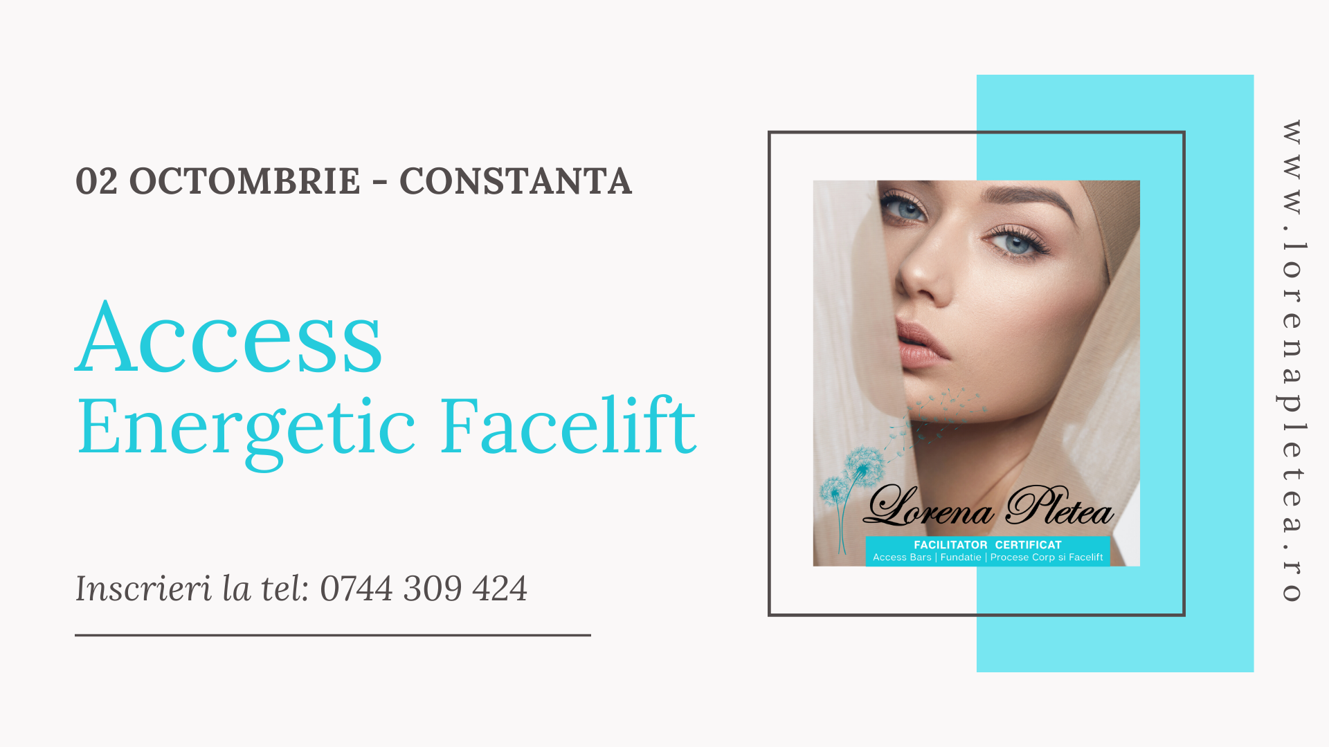 Curs Access Energetic Facelift – 02 Octombrie, Constanta